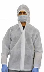 Non Woven Hooded Jacket