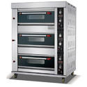 3 Deck 6 Tray Gas Baking Oven
