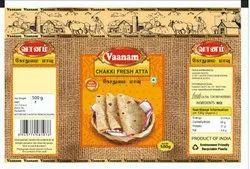 Vaanam Indian Chakki Fresh Atta, Pack Type: Packet, 3 Months