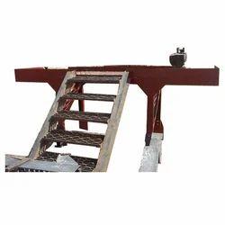 Straight Run Iron Staircase