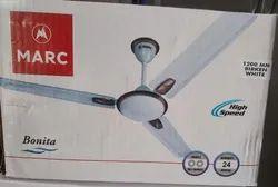 White Ceiling Fans, Warranty: 1 Year