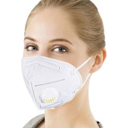 Kn95 High Filtration Capacity 5 Layer Medical Particulate Mask, Anti Pollution Mask