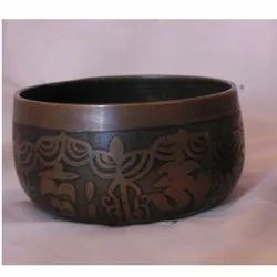 Printed Japanese Singing Bowl