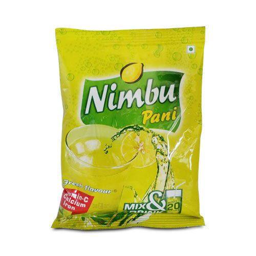 Nimbu Pani, Packaging: Packet
