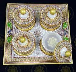 Marble Handicraft Dibbi Set