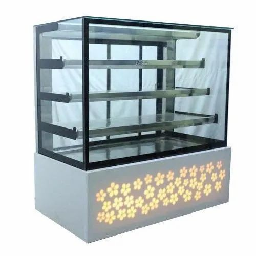 A.R Equipment SS, Glass Commercial Food Display Counter