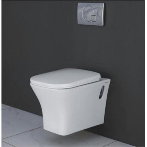 White Wall Hung Wall Hang Toilet Seat 520x370mm Size Dimension 520x270mm Rs 5640 Piece Id 20685485991