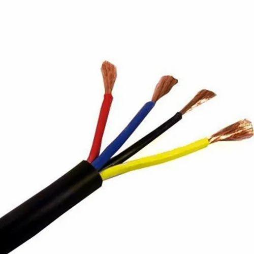 Pvc Finolex 6 Sqmm 4 Core Flexible Wire, 1100 V