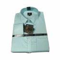 Mens Plain Cotton Plain Shirt, Size: M
