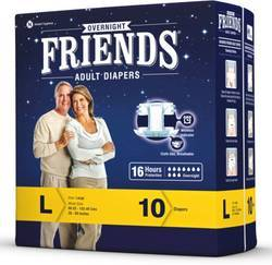 Friends Overnight Adult Diaper Large