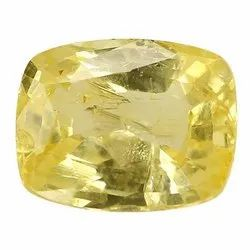 Cushion - Cut Eye Clean Natural Ceylon Yellow Sapphire