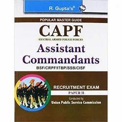 English CAPF Assistant Commandants, RPH Editorial Board