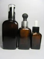 Square Serum Glass Bottle