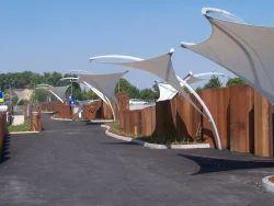 Landscape Tensile Membrane Structure