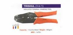 Trishul ( 3 In 1) Crimping Tool
