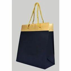 Plain Laminated Paper Shopping Bag