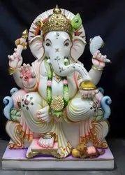 Marble Stone Ganesh Idol