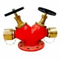Double Head Fire Hydrant Valve