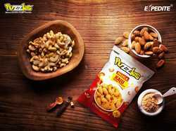 Puzzles & Expedite Masala Kaju Snacks, Packaging Type: Packet
