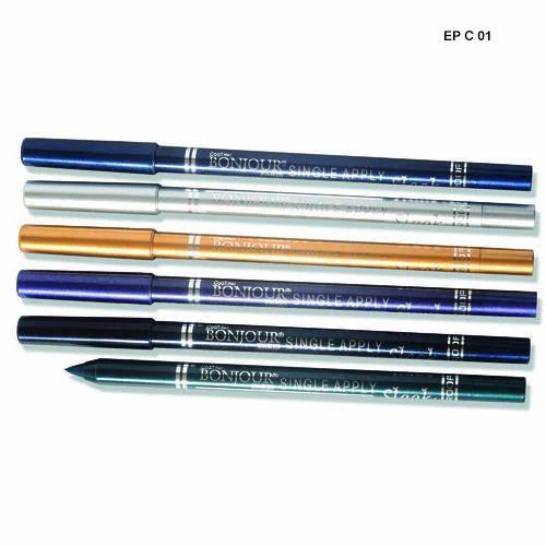 Coat Me Bonjour Paris Metallic Kajal Eye Pencil, Packaging Size: 12 Piece, Packet