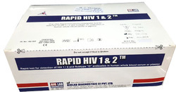 RAPID HIV 1&2 TRILINE CARD TEST