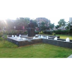 Marvel Gunmetal Geyser Fountains, For Garden