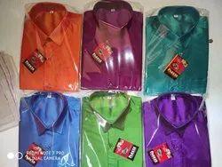 SS Polyester Shirt - Dhoti Kids Age 11-15
