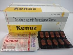 Aceclofenac With Paracetamol Tablets