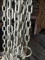 SHIBAAM Mild Steel SHIP CHAIN LOCK CHAIN, Plastic, Cable Thickness: 10 - 12 (mm)