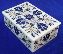 Marble Inlaid Decorative Box