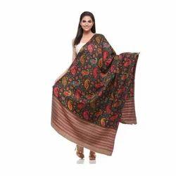 Ladies Printed Woollen Shawls