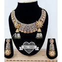 Wedding Traditional Necklace Set, Packaging Type: Box