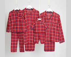 Woven paijama set
