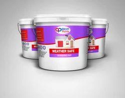 Oxon Paints Weather Safe Exterior Wall Paint, Text