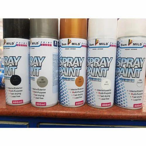 Colour Spray Paints
