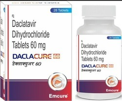 Daclacure 60mg tablet, 1*28 Tablet