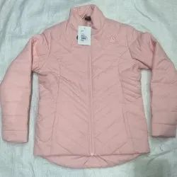 Pink Quilted Full Sleeve Ladies Jacket