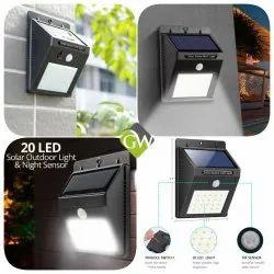 20 Solar Wall Light