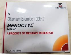 Menoctyl Otilonium Bromide 40mg Tablets, 10 Tablets, Packaging Type: Strip