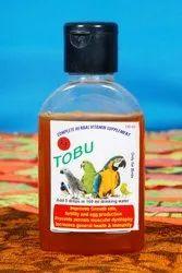 Tubo Brown Tobu Bird Feed Drinking Water, Capacity: 100 Ml