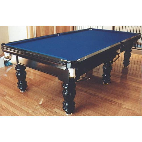 Charmant 21 Balls Pool Table Black 4 X 8 Feet, P 48