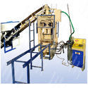 Mini Auto. Fly Ash Brick Making Machine with Vibro. 6cvt - BHA-302D