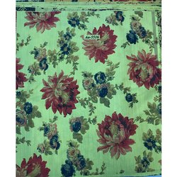 Flower Design Digital Print Fabric