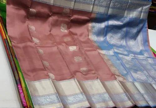 Fancy People Wedding Wear Kanchipuram Pure Silk Saree, 6.3 m (with blouse piece)