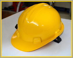 Yellow Lava Safety Hard Hats