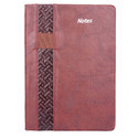 A5  Note Diary Pu Side Pattawith Elastic(711/153)