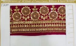 Velvet Embroidery Lace