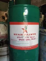 Star Paint Industrial Epoxy High Build Smoke Grey Paint, Packaging Type: Drum