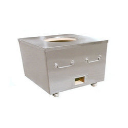 Brite Stainless Steel SS Tandoor, Shape: Square