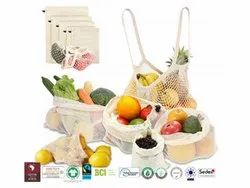Bio Cotton Vegetable Bag